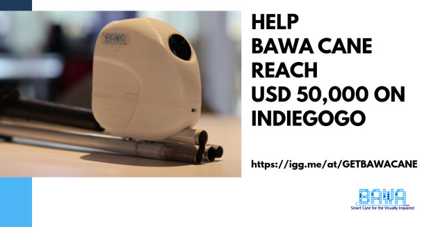 How will BAWA Cane unfold once we crowdfund on Indiegogo?