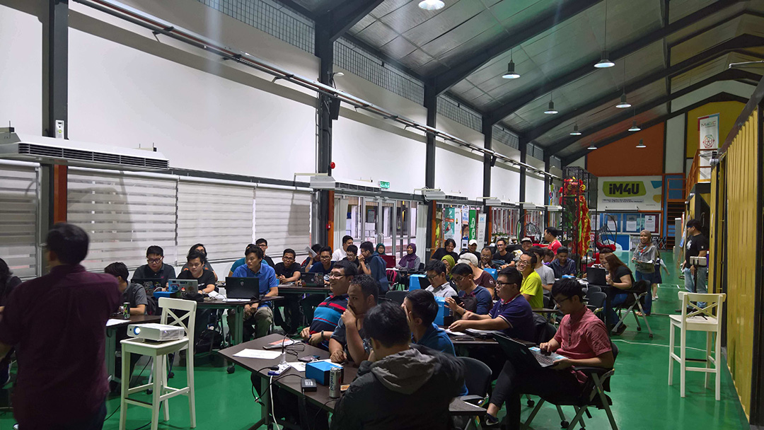 HackWeekend Kuching: Agro-IoT - Full House!