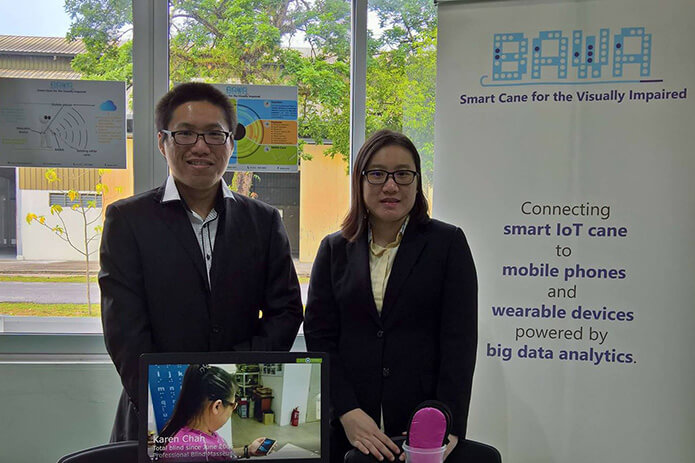 Co-Founders Daniel and Stella Vong impacting visually impaired lives.