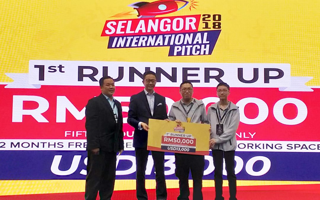 BAWA Cane wins big at Selangor International Pitch 2018