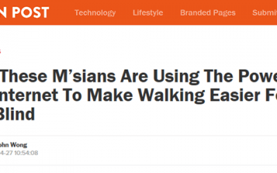 VulcanPost: How These M'sians Are Using The Power Of The Internet To Make Walking Easier For The Blind